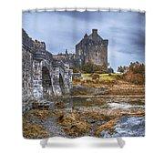 Eilean Donan Castle 3 Shower Curtain