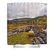 Eilean Donan Castle Dornie Shower Curtain