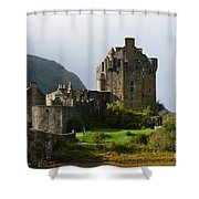 Eilean Donan Castle In Kyle Of Lochalsh Shower Curtain