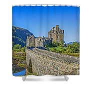 Eilean Donan Castle Walkway Shower Curtain