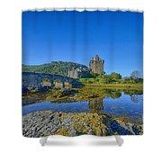Eilean Donan Reflections Shower Curtain