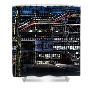 Eileen Gray At The Pompidou Shower Curtain