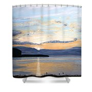 Eileen's Sunset Shower Curtain