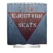 Ejection Seats Shower Curtain