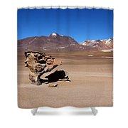 El Arbol De Piedra Bolivia Shower Curtain