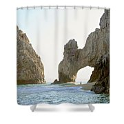 El Arco De Cabo San Lucas Shower Curtain
