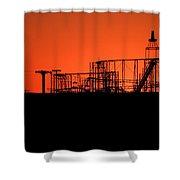 El Bandido Shower Curtain