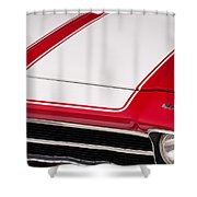 El Camino 02 Shower Curtain
