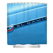 El Camino Shower Curtain