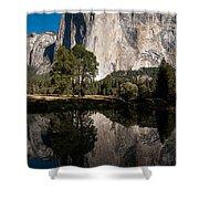 El Capitan In Yosemite 2 Shower Curtain