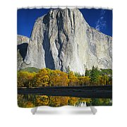 2m6516-el Capitan Reflect Shower Curtain