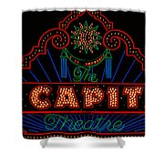 El Capitan Theatre Sign In Hollywood Shower Curtain