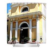 El Convento Hotel Shower Curtain