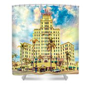 El Cortez Shower Curtain
