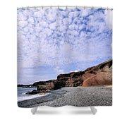 El Golfo On Lanzarote Shower Curtain
