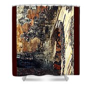 El Morro Arch With Border Shower Curtain