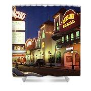 El Rancho Vintage Vegas Shower Curtain