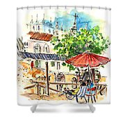El Rocio 01 Shower Curtain