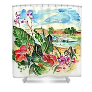 El Rocio 06 Shower Curtain