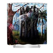 El Torreon  Shower Curtain
