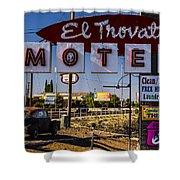 El Trovatore Motel Shower Curtain