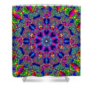Elaborate Systems Shower Curtain