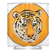 Elainas Tiger Shower Curtain