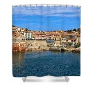 Elba Island - Portoferraio  Shower Curtain