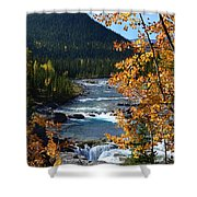Elbow River View Shower Curtain