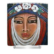 Eleanor Of Aquitaine The Lioness In Winter Shower Curtain