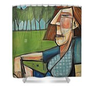 Eleanor Rigby - The Pleasant Years Shower Curtain