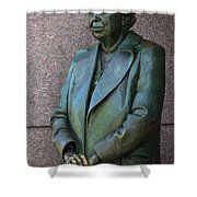 Eleanor Roosevelt Memorial Detail Shower Curtain