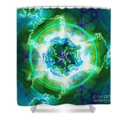 Electric Attraction Shower Curtain