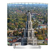 Electric Building Shower Curtain