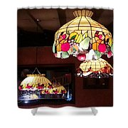 Electric Butterflies Shower Curtain