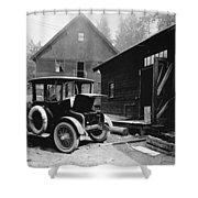 Electric Car, C1919 Shower Curtain