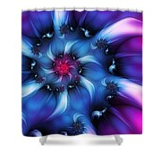 Electric Colours Shower Curtain