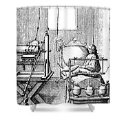Electric Cure Shower Curtain