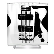Electric Deco  Shower Curtain