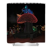Electric Disney Shower Curtain
