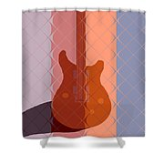 Electric Guitar Solo Shower Curtain