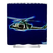 Electric Huey Shower Curtain