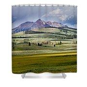 Electric Peak Shower Curtain