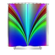 Electric Rainbow Orb Iphone Case Shower Curtain