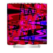 Electric Shivers Shower Curtain