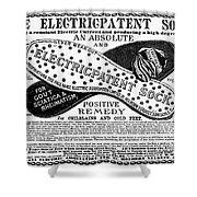 Electric Socks, 1884 Shower Curtain