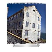 Electrical Repair Shop Alcatraz Island Shower Curtain