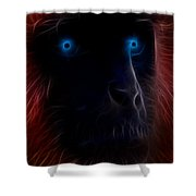 Electrified Shower Curtain by Aged Pixel