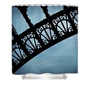 Electrify - Eiffel Tower Shower Curtain