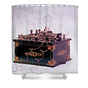 Electroconvulsive Therapy Shower Curtain